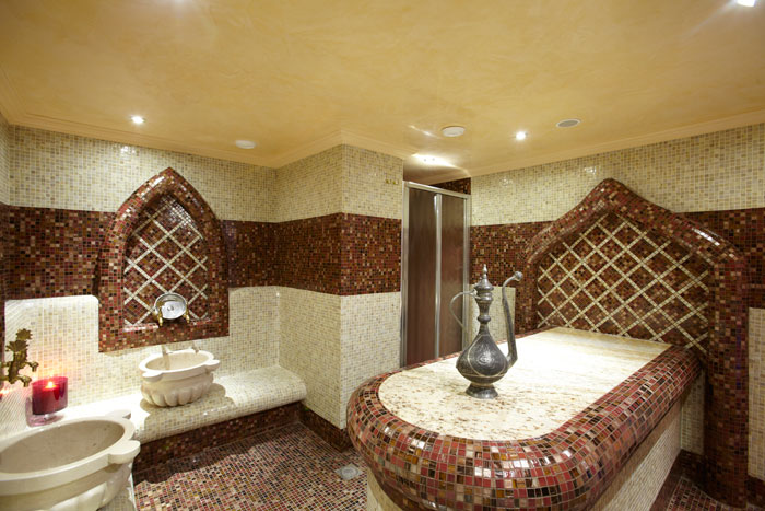 Turkish Bath | Crystal Palace Spa on gym home, steam room home, private beach home, safe home, animation home, lounge home, internet home, sauna home, hot tub home, car parking home, turkish decor, turkish furniture,